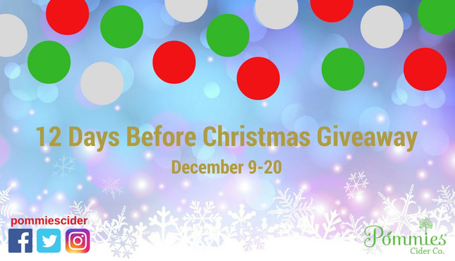 12 Days Before Christmas Giveaway