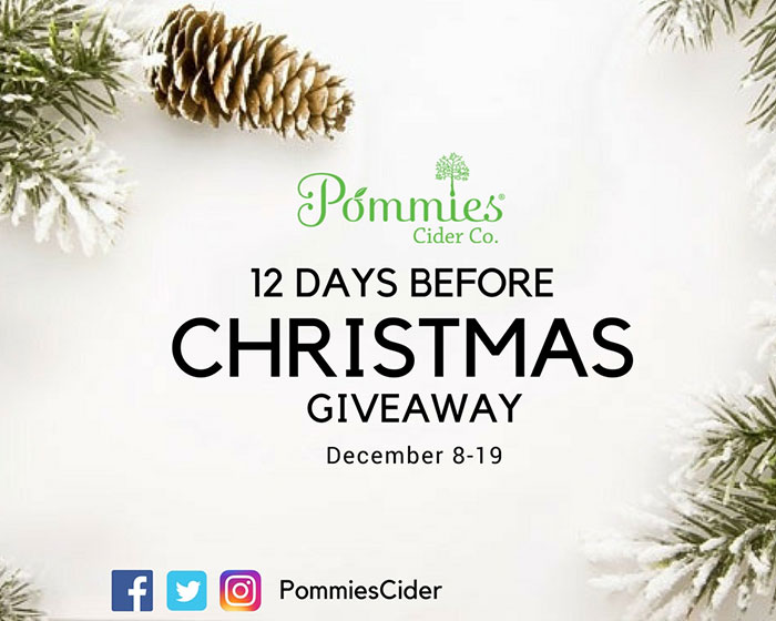 12 Days Before Christmas Giveaway, December 8-19