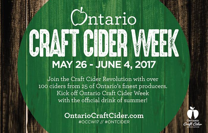 Ontario Craft Cider Week 2017