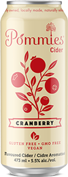 Pommies Cranberry can