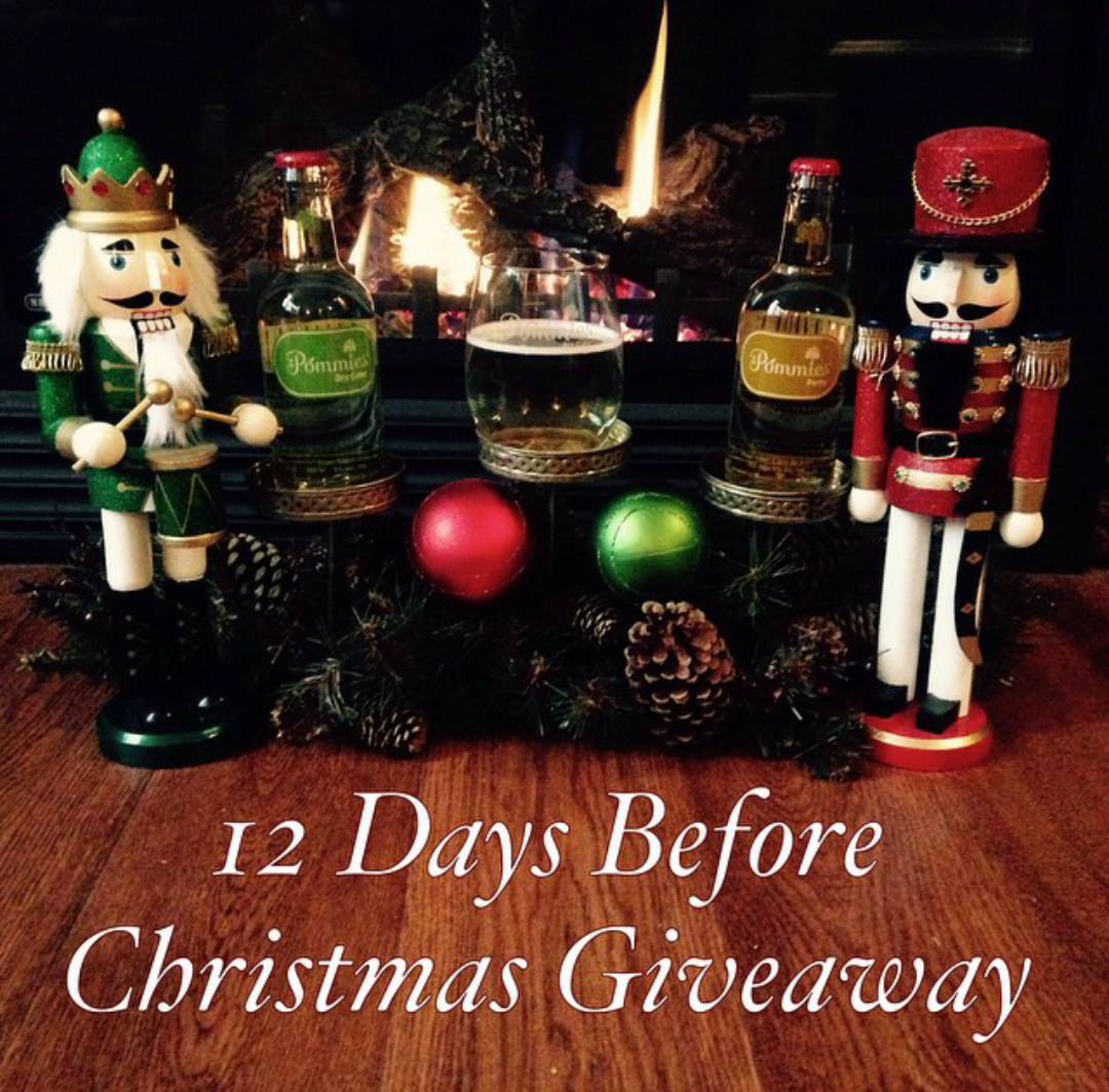 12 Days Before Christmas.Pommies 12 Days Before Christmas Giveaway Pommies Cider Co